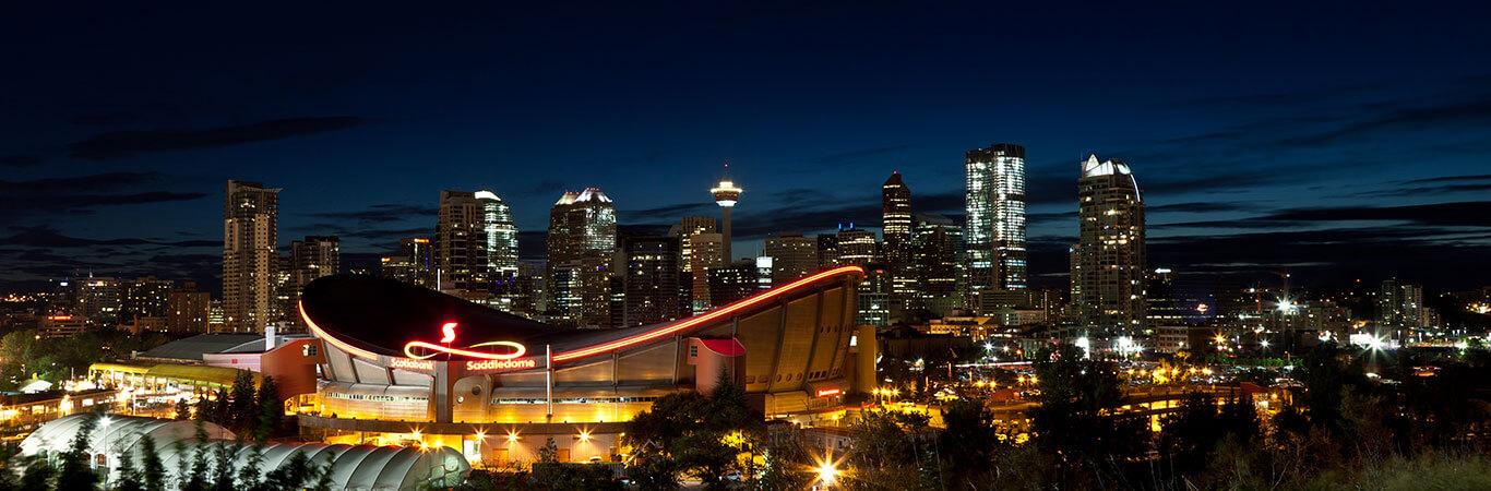 Calgary Evening Tour Banner