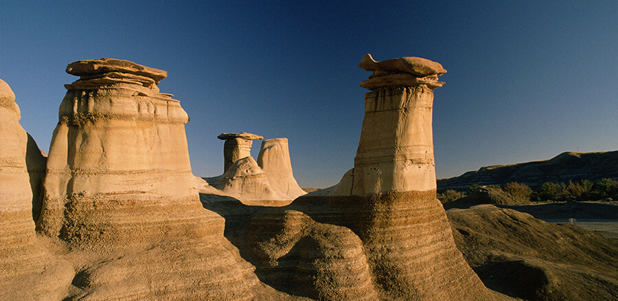 Drumheller and Badlands Hoodoos