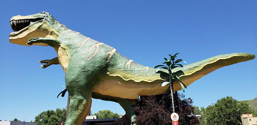 Giant Dinosaur Drumheller