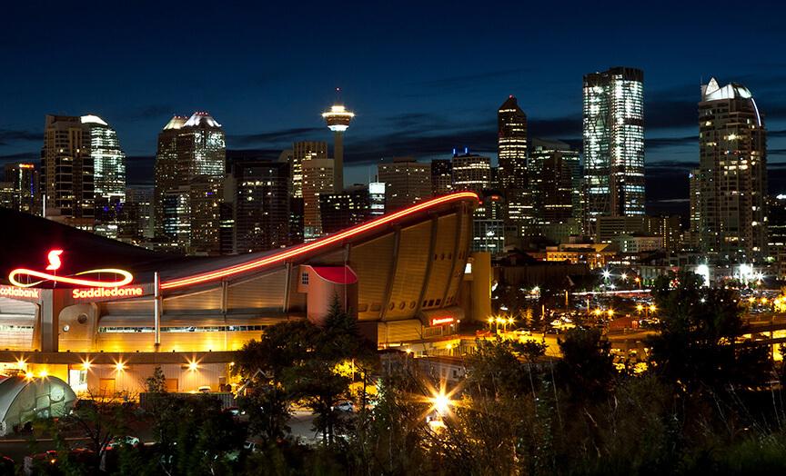 Evening Sky Calgary