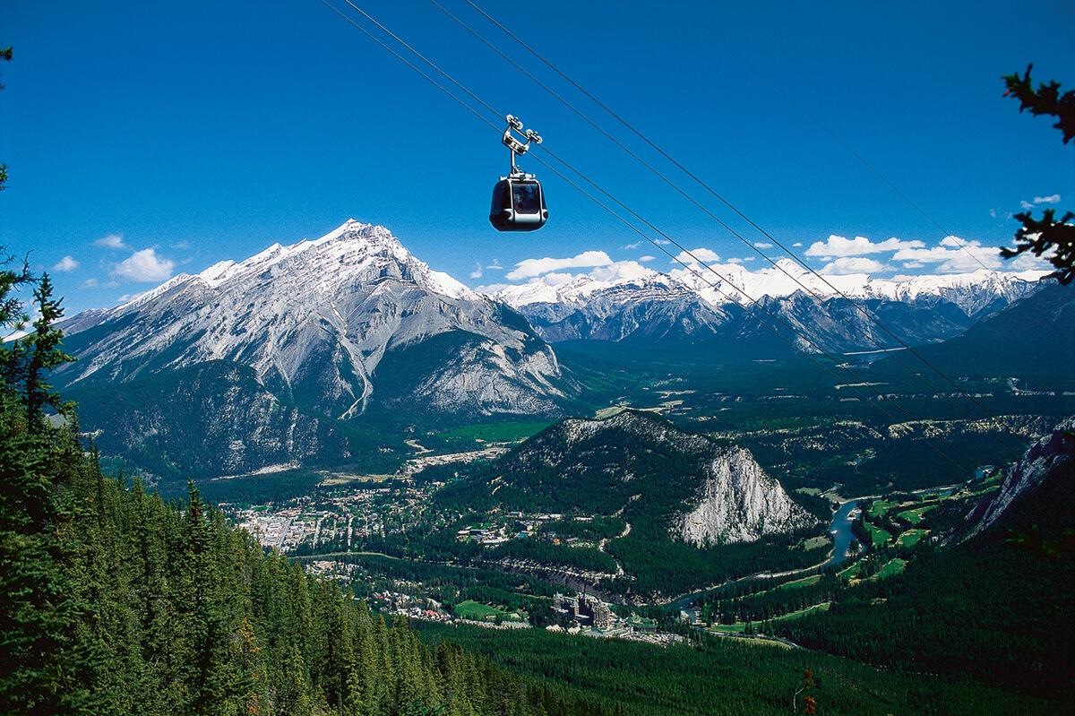 Banff from the Gondola